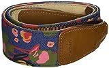 CowboyStudio Bein Universal Flower Print Denim/Leather Camera Shoulder Neck Strap, CAM7131
