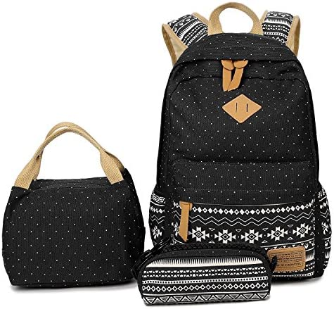 Abshoo Lightweight Canvas Bookbags Backpacks