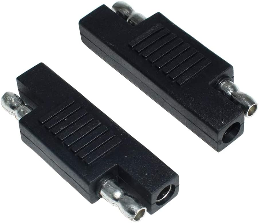Nobranded 2Pcs SAE Polarity Reverse Adapter Connectors Maintainer with Extension Cable