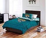 Jacksonville Jaguars NFL Full Comforter & Sheet Set (5 Piece Bedding)