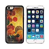 Apple iPhone 6 6S Aluminum Case grunge colorful circles IMAGE 12691885 by MSD Customized Premium Deluxe Pu Leather generation Accessories HD Wifi Luxury Protector