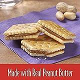 Keebler PB 'N' J Peanut Butter and Jelly Sandwich Crackers, Single Serve, 1.38 oz