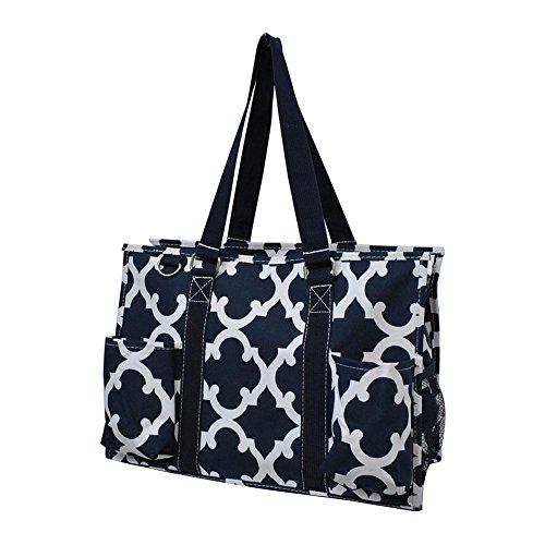 Spring Geo Navy Utility Bag N Blue Tote Medium 2017 Gil Purpose 3 Pattern New Organizer All SvqxqgHwC