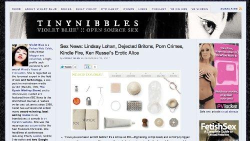 Violet Blue :: TinyNibbles - Violet Blue Blog