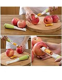 CheckOut Apple pear fruit Corers slicer peeler cutter parer knife plastic 20*3.8cm fruit tools good helper. save
