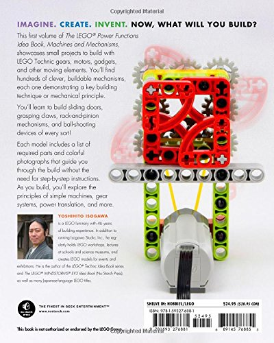 Download The LEGO Power Functions Idea Book, Vol. 1: Machines and ...