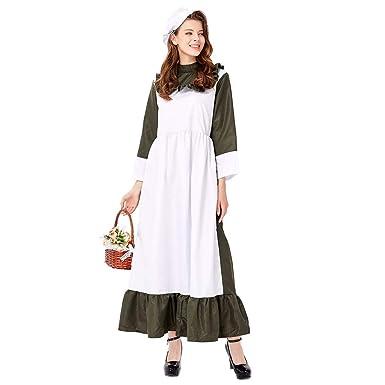 Disfraz de Chef de Granja de Halloween para Cosplay, Color Verde ...