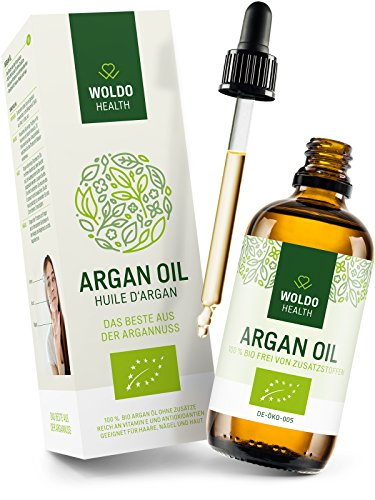 Argan Oil 100% Pure and Organic Moroccan - Cold Pressed, Extra Virgin...