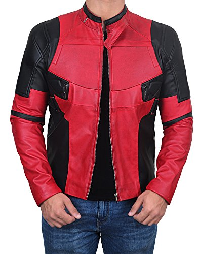 Hollywood Movie Jacket Coat Collection - Premium Quality (XL, Deadpool 2 Leather Jacket) -