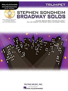 stephen sondheim broadway solos alto sax hal leonard instrumental play along