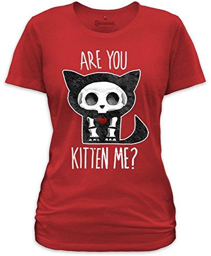 Goodie Two Sleeves - Camiseta - Manga corta - para mujer Rojo