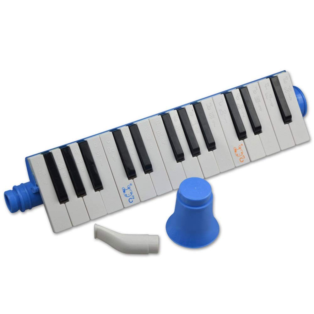 Melodica Musical Instrument Portable 27 Keys Kids Toy Melodica Instrument Piano Style With Carrying Box Keyboard Wind Instrument With Mouthpieces Musical Gift Toys For Kids Beginners Students For Musi