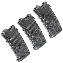Airsoft Gear Parts Accessories 3pcs 330rd Mag Hi-Cap Magazine for AUG Series Black