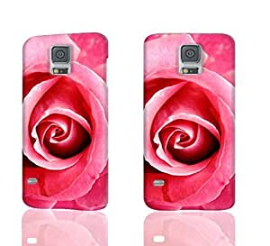 Beautiful Pink Rose 3D Rough Case Skin, fashion design image custom, durable hard 3D case cover, Case New Design for Samsung Galaxy S5 I9600 , By Codystore