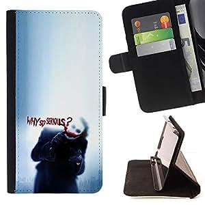 Momo Phone Case / Flip Funda de Cuero Case Cover - Cachorro tan serio Lluvia Triste lindo - Sony Xperia Z2 D6502