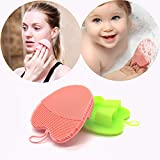 INNERNEED Silicone Facial Scrubber Face Brush