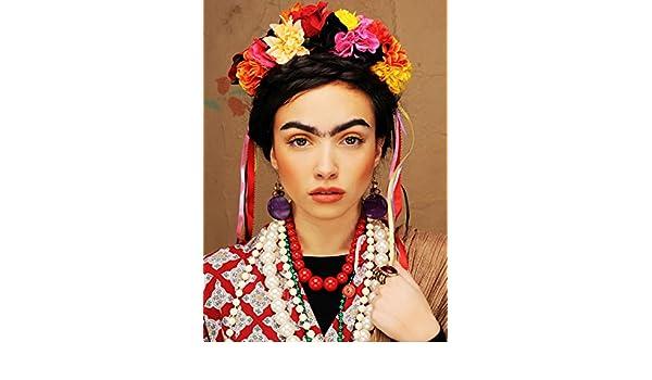 Magic Box Frida Kahlo - Diadema para Mujer, diseño de Flores ...