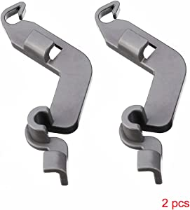 2 Pcs W10082853 Dishwasher Tine Pivot Clip fit for Whirlpool Kitchenaid Kenmore Dishwasher replaces part numbers W10082853 PS11748190 WPW10082853VP