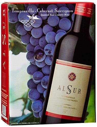Vinicola de Tomelloso La Mancha Alsur Tinto (Rotwein / Bag-in-Box 3 L) Tempranillo  Trocken