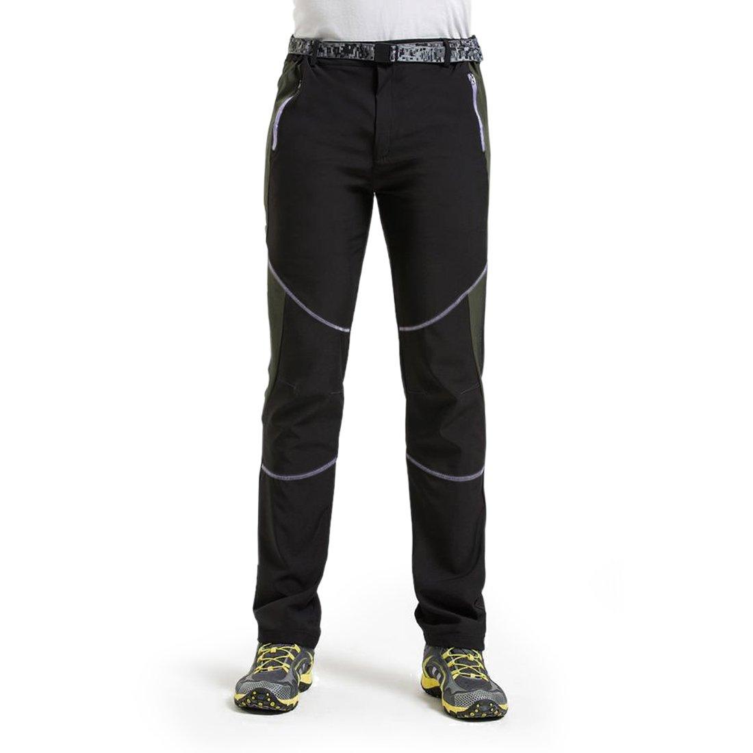 LUI SUI Pantalones de Senderismo de Secado r/ápido al Aire Libre para Hombre Pantalones Ligeros Transpirables a Prueba de Viento Pantalones para Caminar de Carga de Escalada de monta/ña
