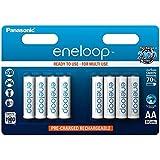 Panasonic Eneloop SY3052647 - Pack 8 pilas recargables, AA