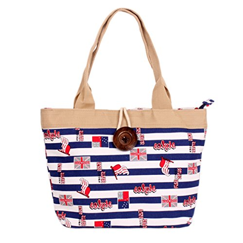 Sac Flag djb de AiSi Red Rose leaves 05 Femme plage dCUTUqwz