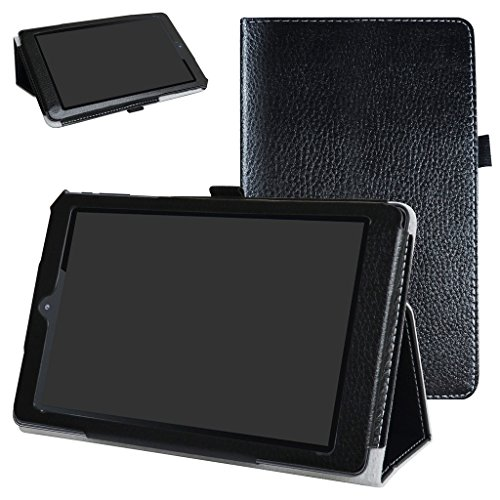 NeuTab S8 Case,Mama Mouth PU Leather Folio 2-Folding Stand C