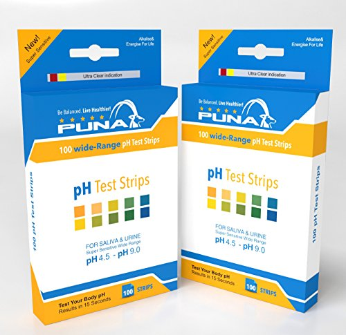 Puna Ph Test Strips -1 pack of 100 Strips