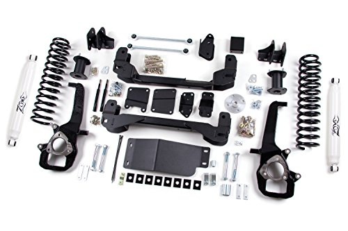 Dodge Ram 1500 Zone Suspension 6' Suspension System 3' Rear Springs w/Black Nitro Shocks
