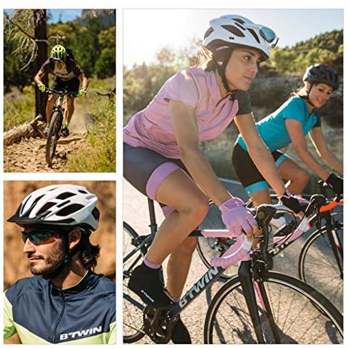 GYM Cycle Meteor Casque VTT Vélo Vélo Planche À roulettes Scooter Hoverboard Casque avec Visière Amovible for La Sécurité Légère Riding Ajustable Casque Hommes Femmes Enfants (Size : M)