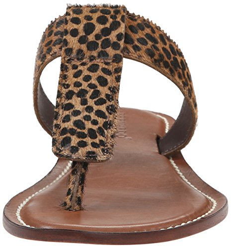 Bernardo Mujeres Mimi Dress Sandal Cheetah Haircalf