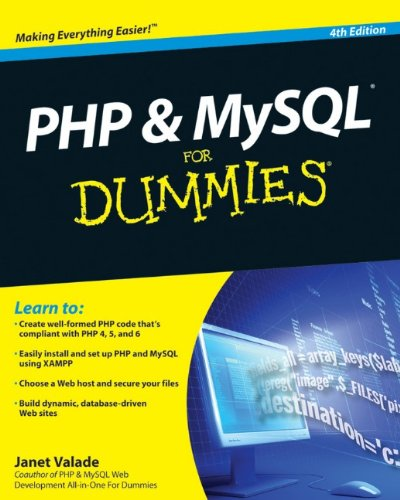 PHP & MySQL For Dummies, 4th Edition by For Dummies