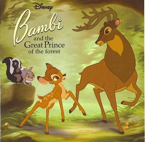Disney Bambi and the Great Prince of the Forest (Random