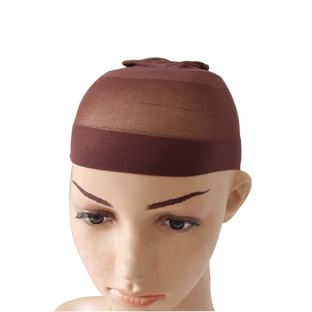High Quality Unisex Stocking Wig Cap Snood Mesh Natural Nude Beige Wig Caps (2pcs) Rise World