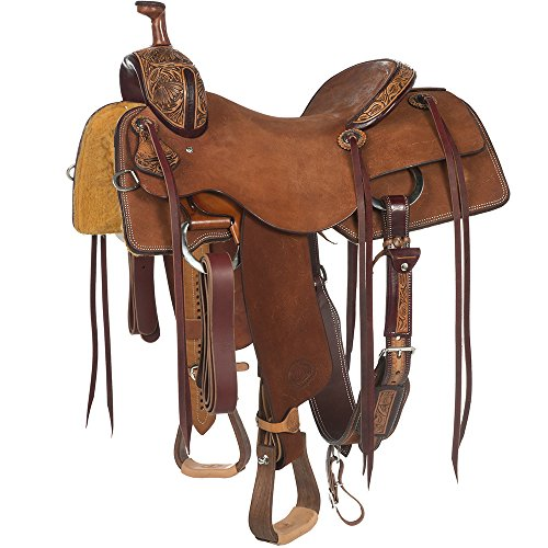 NRS Competitor Series 1/8 Breed Ranch Cutting Saddle 16
