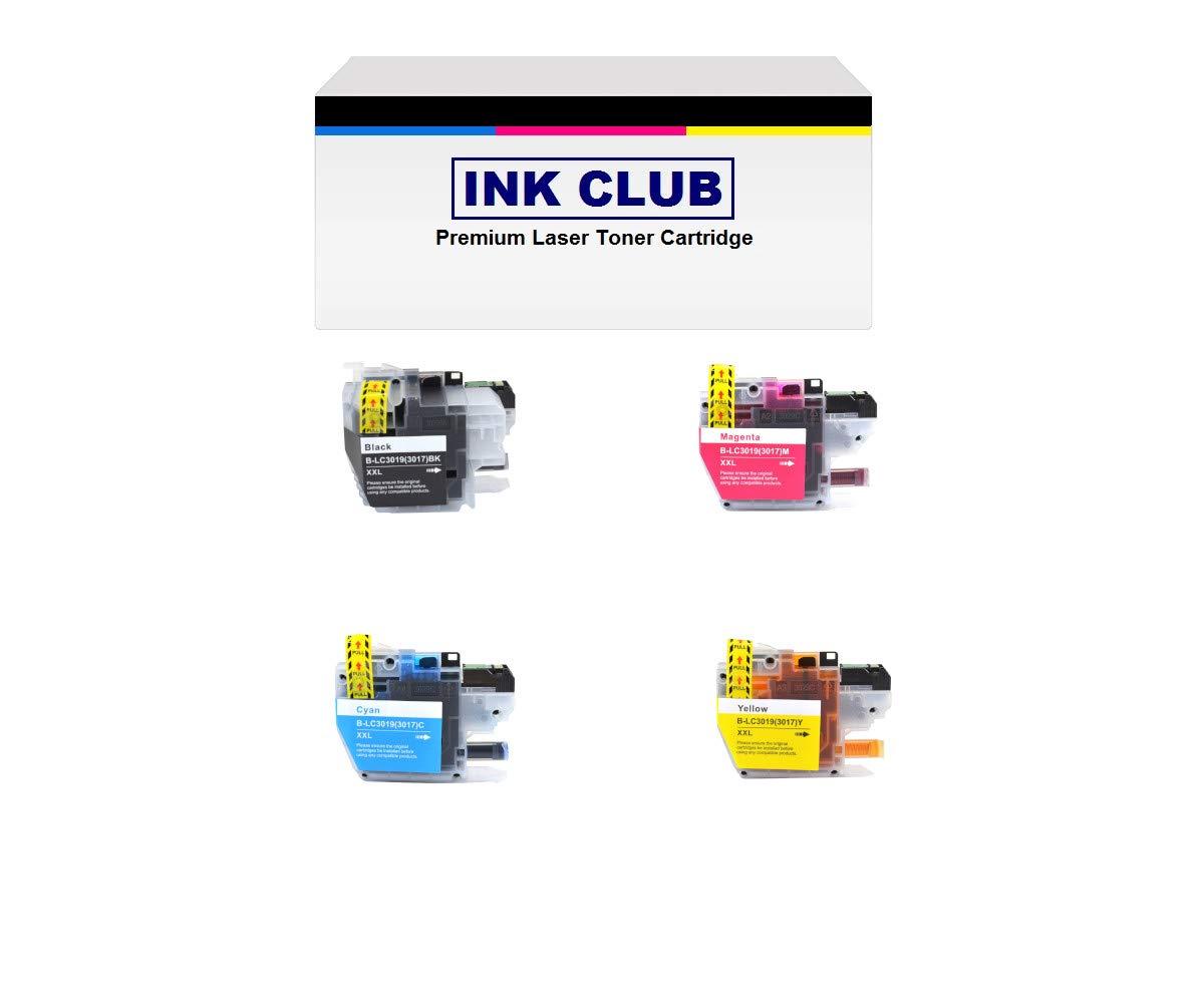 Amazon.com: InkClub lc3019bk lc3019 °C lc3019 m lc3019y (XXL ...