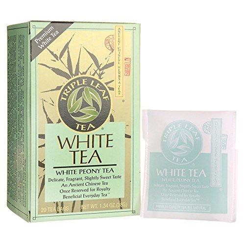 TRIPLE LEAF Tea White Peony, 20 CT