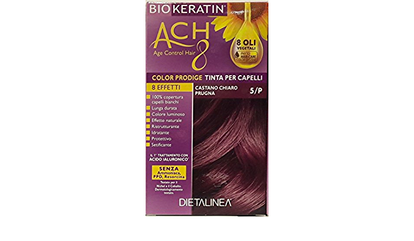Biokeratin ACH8 Color Prodige - Tinte para el cabello-5/P ...
