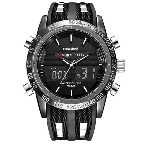 f7ed896b5c6 READEEL ChicChillShop Luxury Brand Watches Men Sports Watches Waterproof  LED Digital Quartz Men Military Wrist Watch