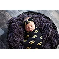 Gold Newborn Swaddle Set