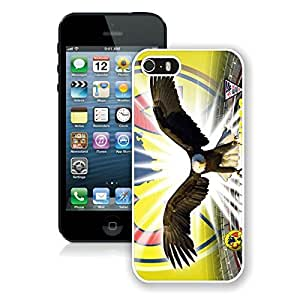 Beautiful Designed Case With Club America 1 White For iPhone 5S Phone Case