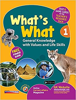 Buy What's What - 1 with CD and Free Power Book - General