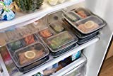 Meal-Prep-Haven-3-Compartment-Food-Containers-with-Airtight-Lid-Bento-Box-Lunch-Box-for-Meal-Prep-21-Day-Fix-and-Portion-Control-Set-of-7-14
