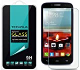 TechFilm®- Alcatel One Touch Fierce 2 [Tempered Glass] Screen Protector, Premium Ballistic Glass Round Edge [0.3mm] Ultra-Clear Anti-Scratch, Anti-Fingerprint, Bubble Free, Maximum Screen Protection from Bumps, Drops, Scrapes, and Marks [1 Pack]- Retail Packaging
