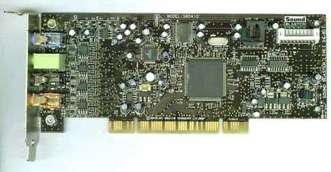 Creative SB0410 Sound Blaster Live! 24-Bit PCI Sound Card