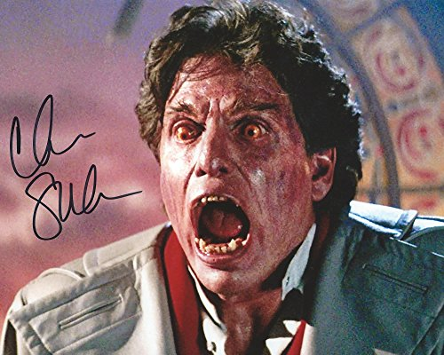 Fright Night Signed Autographed by Chris Sarandon as Jerry 8x10 Photo