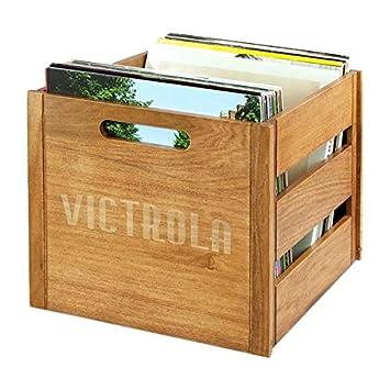 Estuche de almacenamiento Victrola Clasico Vinilos Record LPs
