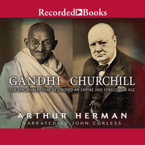 Gandhi & Churchill cover