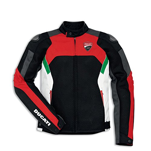 (Ducati Corse Tex Summer Mesh Fabric Jacket 9810379 (54) )