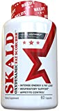 SKALD® First Fat Burner Weight Loss Pills with Repiratory Support - Best Thermogenic Supplements for Men and Women - Energy and Metabolism Boost Diet Product that Works Fast for Cardio and Endurance